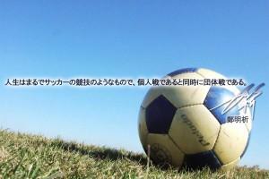 摂理 鄭明析「サッカー競技」